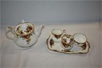 Old Country Roses Royal Albert Tea Set