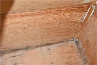 "Large Wood Trunk 48""x24""x26"" Tall"