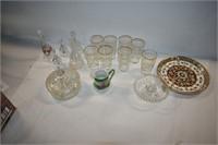Glasses, Bells, Candy Dish, etc.