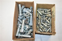 (2) Boxes of Hair Hose Fittings & Couplers