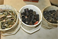 (3) Pails of Fittings