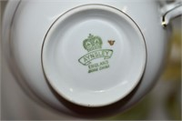 (6) Bone China Cups & Saucers