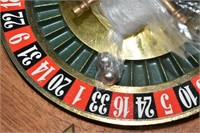 """Wood Roulette Wheel 14"""" with Balls"""