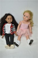"(2) 18"" Dolls"