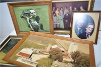 Group of Pictures in Frames