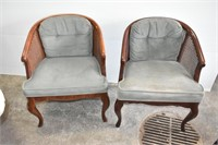 (2) Vintage Parlor Chairs