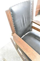 Old Wood Rocker (Torn Seat)