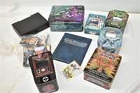 Group of Pokémon & Yu-Gi-Oh! Items
