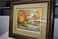 """Country Road"" Print by A.J. Casson 37/1995"
