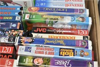 (2) Boxes of VHS'