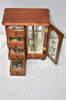 Jewelry Box & Contents