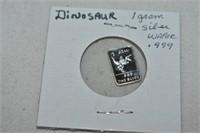 1 Gram Silver Wafer .999