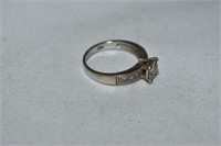 Sterling Silver Ring Size 10.5