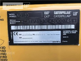 CATERPILLAR M313D