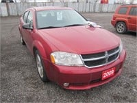 2009 DODGE AVENGER 258620 KMS