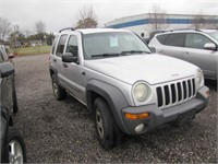 2004 JEEP LIBERTY 237050 KMS