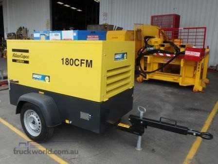 2018 Atlas Copco 180 CFM Heavy Machinery for Sale