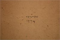 HIGHWAYMEN TYPE PAINTING ON UPSON BOARD