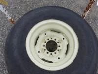 (4) Goodyear 12.5L-15SL Tires & Rims