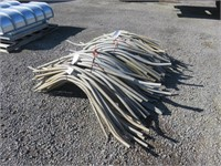 Approximately (150) Assorted Aluminum Siphon Pipe