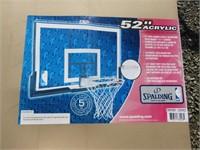 Acrylic Basketball Backboard and Hoop