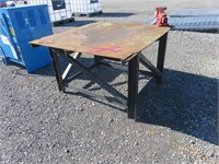 Metal Welding Table w/ Vise