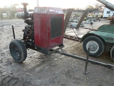 Case Ih 4390T 4Cyl Power Unit W/ Trailer Other Auction