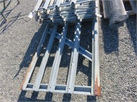 Galvanized Gates & Fence