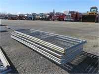 (10) 16' Wire Panels