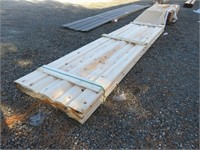 """Approximately (26) 2"""" x 8"""" x 14' Log Cabin"""