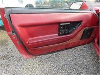 1985 Chevrolet Corvette Base Hatchback
