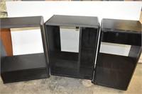 3-Piece Entertainment Unit/Cabinet with Shelves