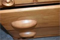 """6-Drawer Wood Dresser 51""""x19""""x33"""" Tall"""
