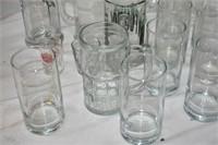 (2) Boxes of Stemware, Glasses & Stein