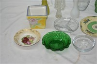 Grouping of Vases, Plates & Bowls