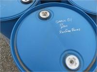 (4) 55 Gallon Plastic Drums