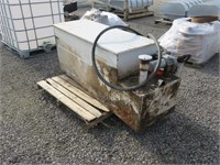 Tool Box with Fuel Tank