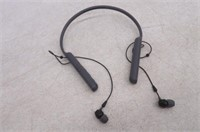 """""""As Is"""" Sony WIC400/B Behind The Neck Style,"""