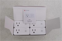 Smart Plug Mini WiFi Outlet with USB Port Travel