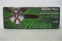 Hunter 53237 Builder Plus 52-Inch Ceiling Fan with