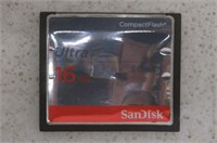 SanDisk Ultra 16GB Compact Flash Memory Card Speed