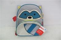 """Skip Hop Toddler Backpack, 12"""" Raccoon School Bag,"""