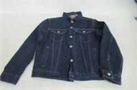 Levi's Men's Medium The Trucker Jacket, Rigid Two