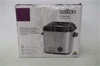 Salton DF1539 Compact Deep Fryer, Stainless Steel