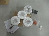 "Globe Electric 3"" LED IC Rated Swivel Spotlight"