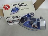 Hamilton Beach - Retractable Cord Iron