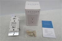 Insteon Smart Wall Outlet, Top & Bottom Outlets