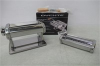 Ovente PA515S Vintage Stainless Steel Pasta Maker,