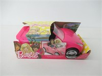 Barbie Convertible Sparkly Car - Pink