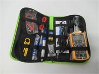 Soldering Iron Kit with Digital Multimeter, 60W